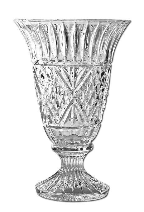 Amazon Godinger Dublin 7 34 Inch Crystal Vase Decorative