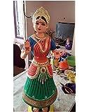 Jai Shoppee Tanjore Dancing Doll