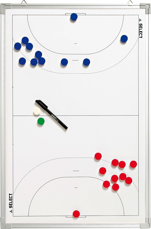 Select Pizarra táctica de balonmano, color blanco, 45x 30cm SELF0|#Select 7295100000