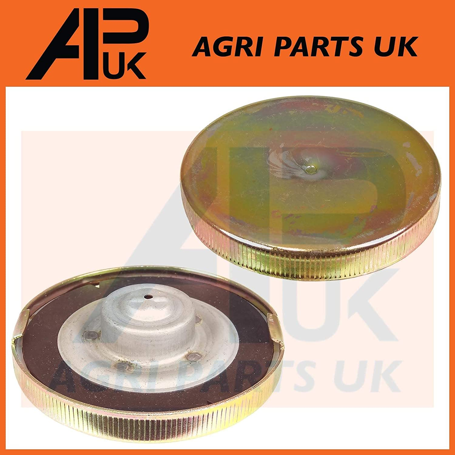 APUK Fuel Tank Cap compatible with Leyland Marshall 245 272 344 384 Nuffield 4DM 3//45 4//65 Tractor