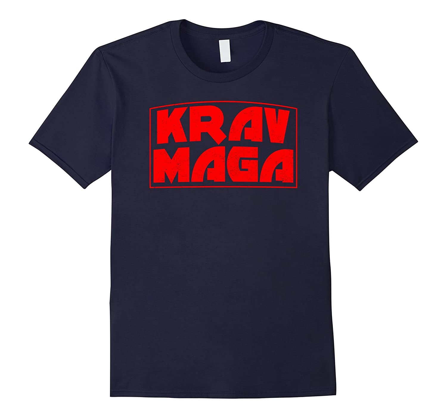 KRAV MAGA Martial Arts t-shirt distressed design-TD