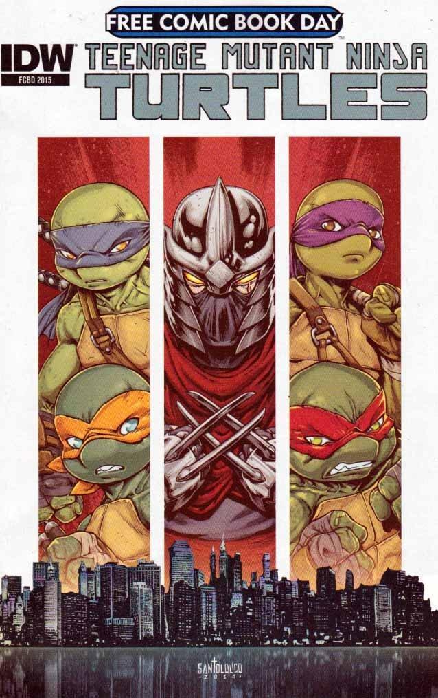 Free Comic Book Day 2015 Teenage Mutant Ninja Turtles ...