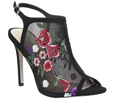 062eaa5b89c1 Office Hippie Floral Mesh Shoeboot Black - 6 UK  Amazon.co.uk  Shoes ...