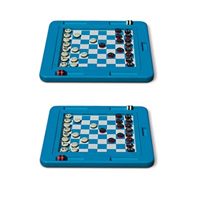Swimline Swimming Pool Floating Multi-Game Gameboard Chess Board Game (2 Pack): Toys & Games