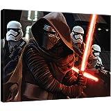 DELESTER DESIGN PPD1913O1 Star Wars VII Le Réveil de la Force Tableau d'Art Multicolore 100,0 x 3,0 x 75,0 cm