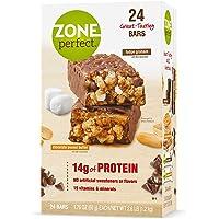 ZonePerfect barras nutritivas chocolate manteca de cacahuete / Fudge Graham 14 g Proteína 24 barras 1.76 oz cada una