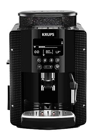 Krups YY8135FD Independiente Totalmente automática Máquina espresso 1.6L Negro - Cafetera (Independiente, Máquina
