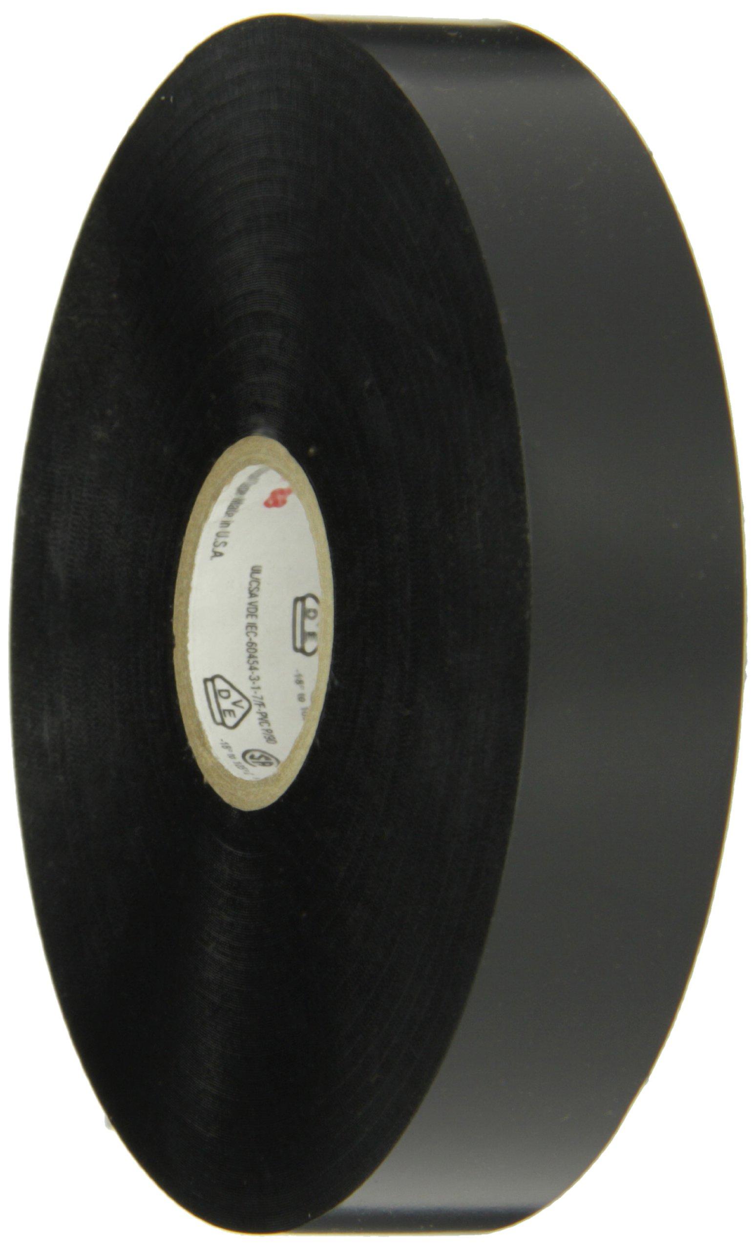 Scotch Vinyl Electrical Tape Super 88, 3/4 in x 36 yds, Black, 12 rolls/carton, 48 rolls/case