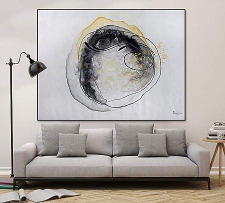 Kunstloft® Extraordinario Cuadro al óleo Bajo el ...