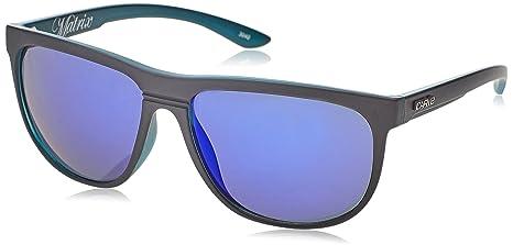 Carve Matrix, Gafas de Sol Unisex, Mat Blk Clr BLU Rev, 60 ...