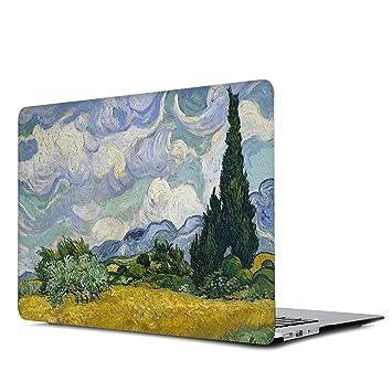 Amazon.com: Onkuey - Carcasa rígida de plástico para MacBook ...