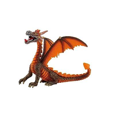 Bullyland 75595 - Figura de dragón Color Naranja: Juguetes y juegos