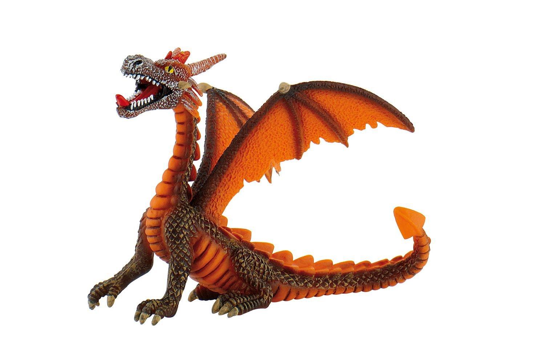 Dragon sitting orange Figurine Bullyland 75595 4007176755952