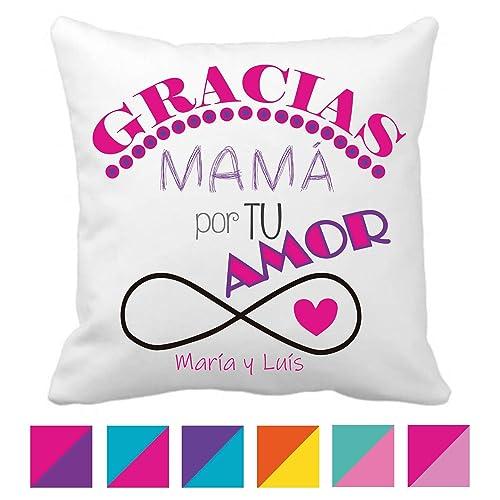 Cojín Mamá/Regalo Original/Día la Madre/Texto ...