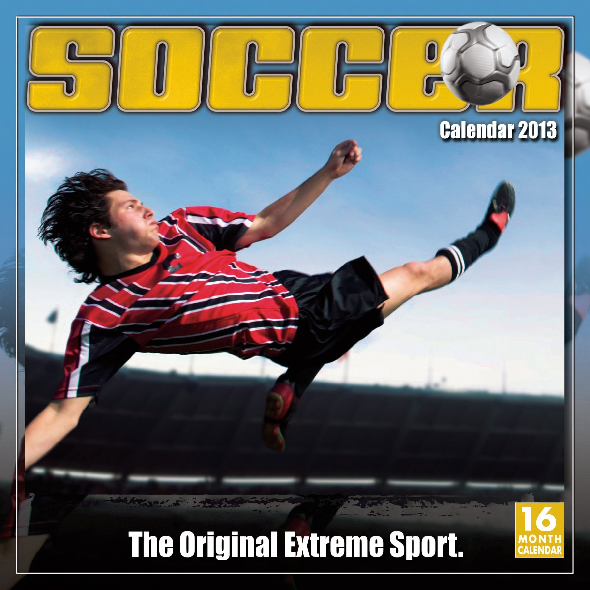 Soccer: The Original Extreme Sport 2013 Wall (calendar): Sellers  Publishing: 9781416289319: Amazon.com: Books