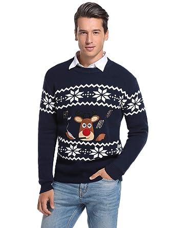 maglioni natalizi uomo