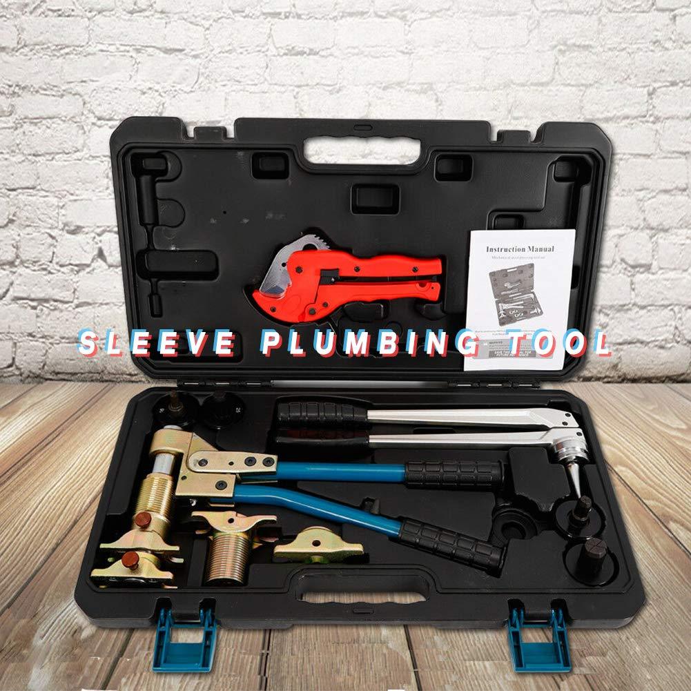 Plumbing Tools TBVECHI Plumbing Tools PPR PEX Pipes Fitting Tools Pipes Expand/Tighten Tool PEX-1632 16-32mm Press Tool Pliering Tool Rehau Systems