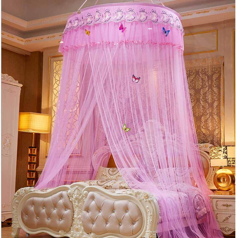 - Amazon.com: POPPAP Bed Canopy For Girls Kids Bedroom Decor Round