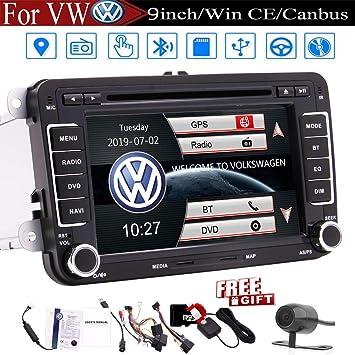 7 pulgadas de la radio de coche de la pantalla táctil equipo de ...