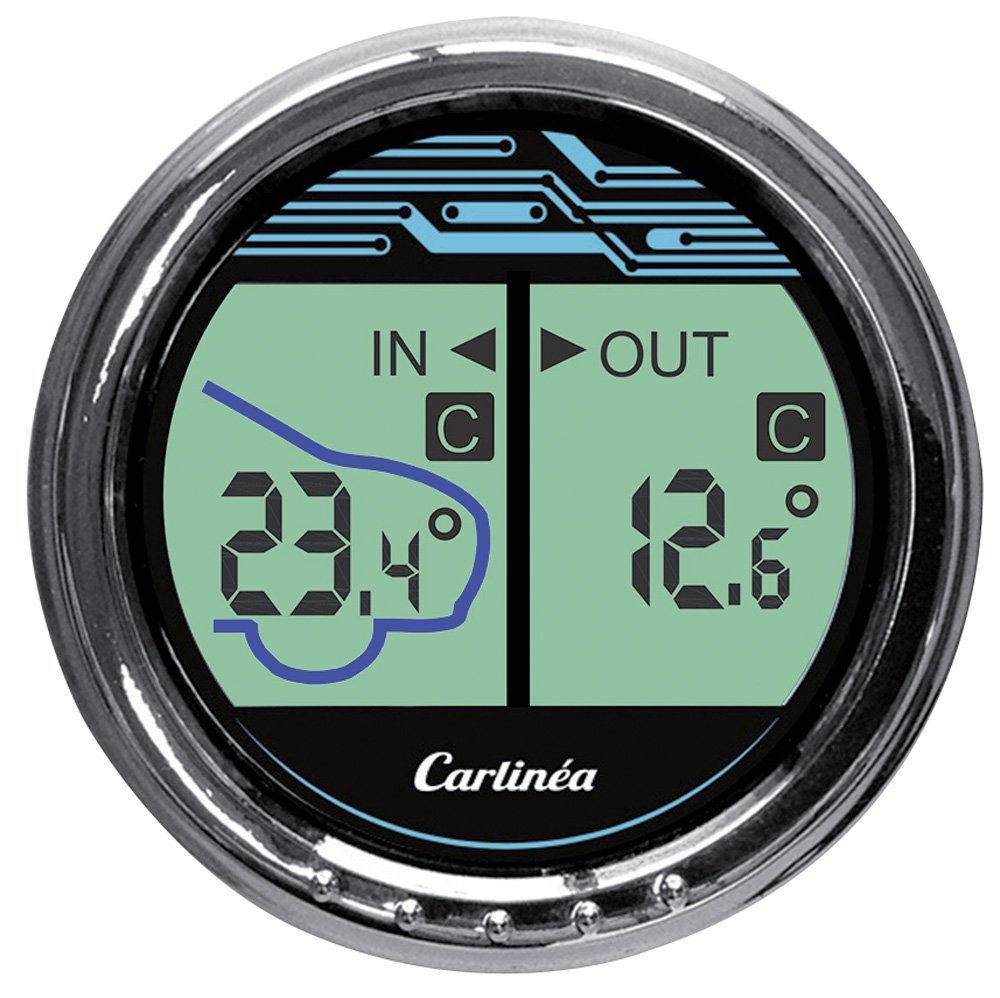 Carlinea 485004 thermom/ètre digital
