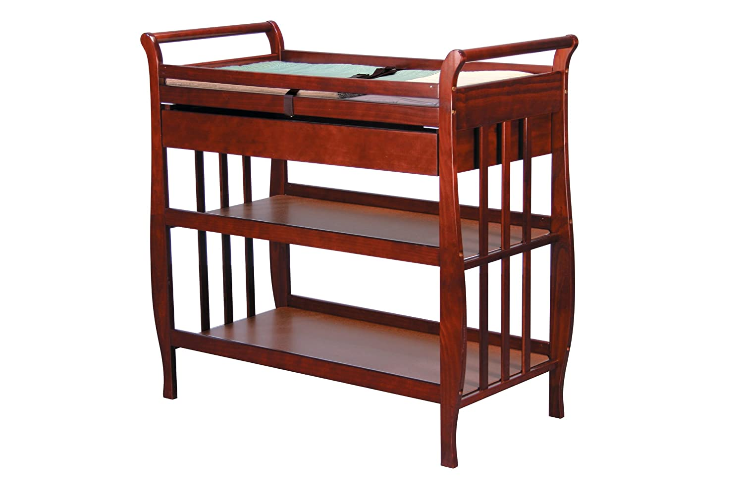 Amazon.com : DaVinci Emily Baby Changing Table   Cherry (Discontinued By  Manufacturer) : Baby