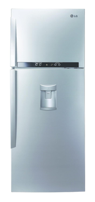 LG GT7063AVFW Independiente 466L A+ Acero inoxidable nevera y congelador - Frigorífico (466 L, T, 41 dB, 5,8 kg/24h, A+, Acero inoxidable): Amazon.es: Hogar