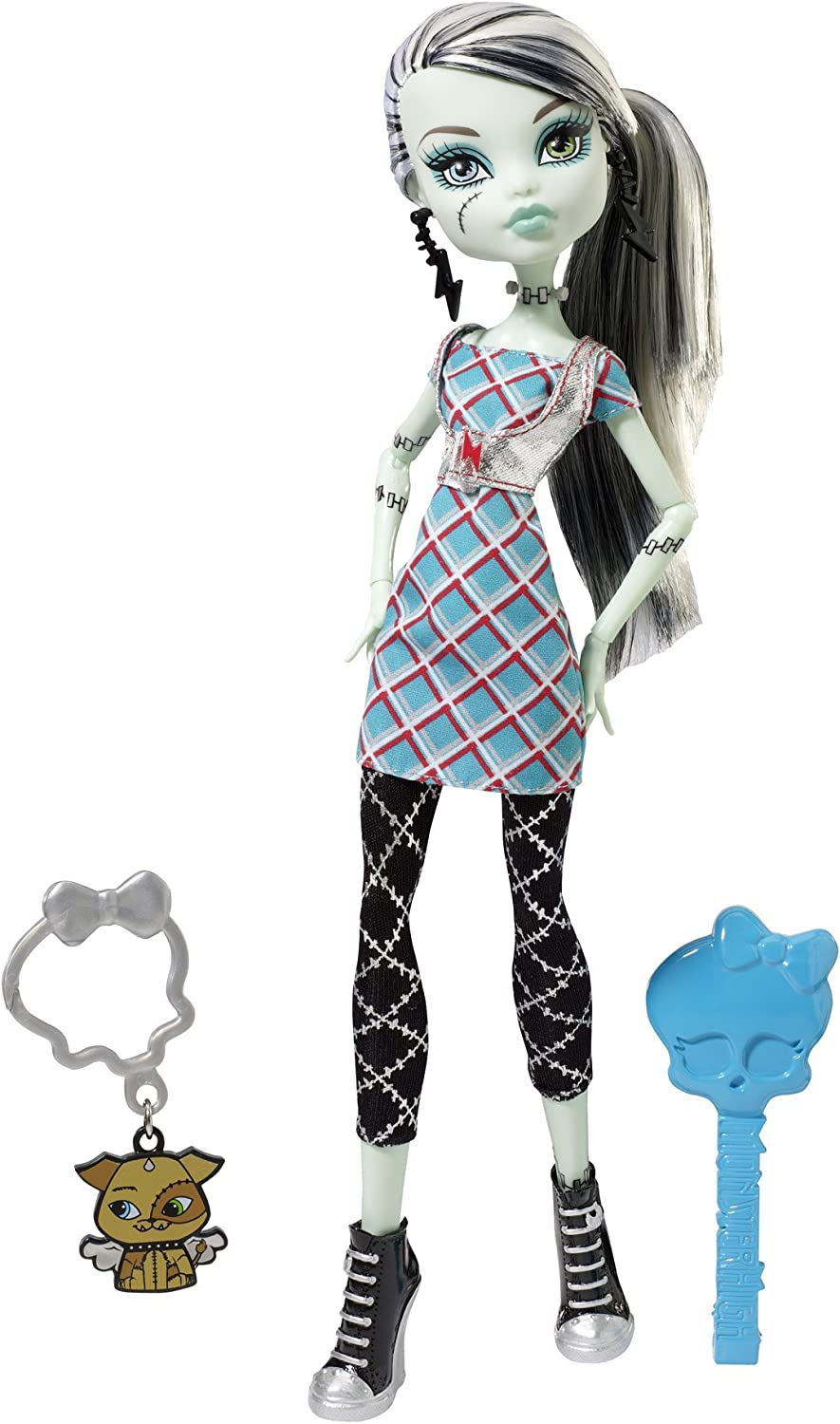 Amazon Com Monster High Classrooms Frankie Stein Doll Toys Games