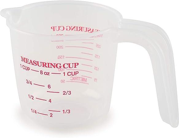 Amazon Com Norpro 3035 1 Plastic Measuring Cup Multicolored