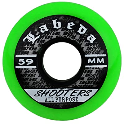 Labeda Wheels Inline Roller Hockey Shooter All Purpose Green 68mm 83A x1 : Sports & Outdoors