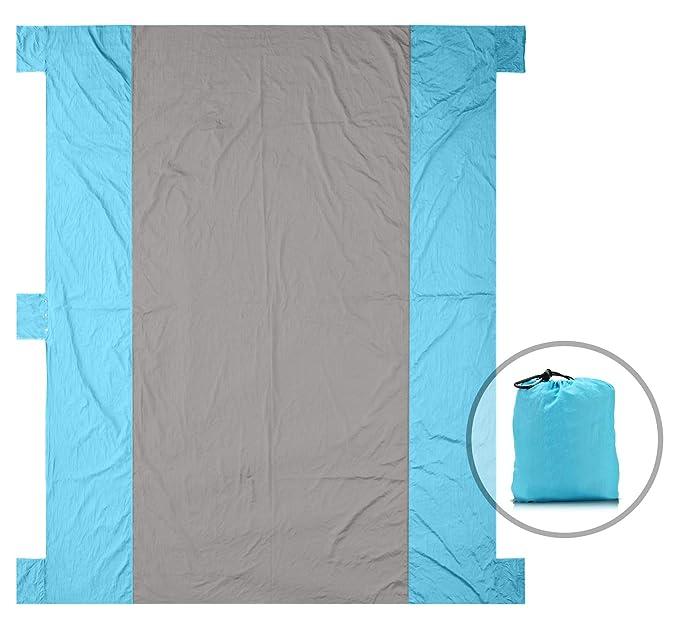 Amazon.com: Zerla - Manta grande para exteriores con nailon ...
