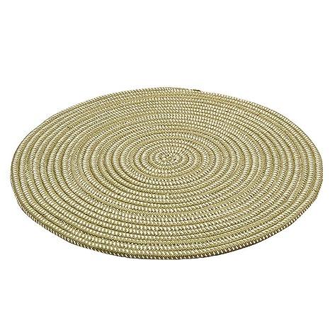 Muebles de decoración de suelos Alfombra de punto Cuerda ...