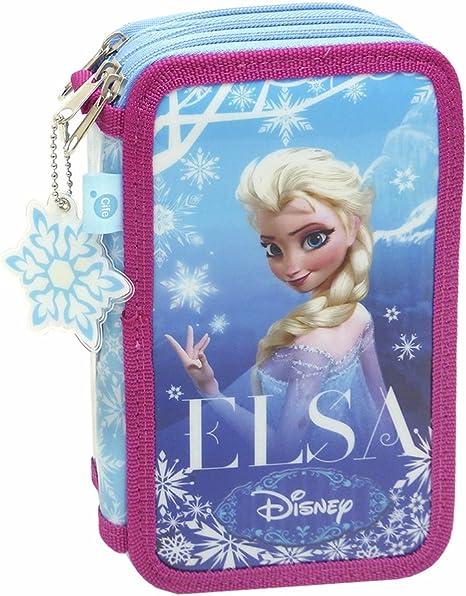 Cife Disney - Estuche 3 Pisos Frozen: Amazon.es: Juguetes y juegos