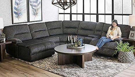 Amazon.com: Raza Living Pacifica 6 Pc. Seccional reclinable ...