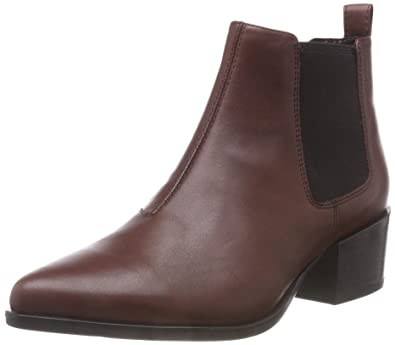 6b34fe92350007 Vagabond Women s Marja 4213-501-39 Leather Pull On Boot Bordo-Bordo-