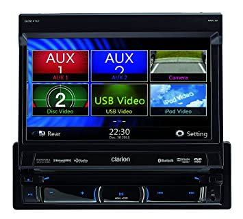 71v9vaeOYxL._SX355_ amazon com clarion nx702 built in car navigation system Clarion Wiring Harness Diagram at n-0.co