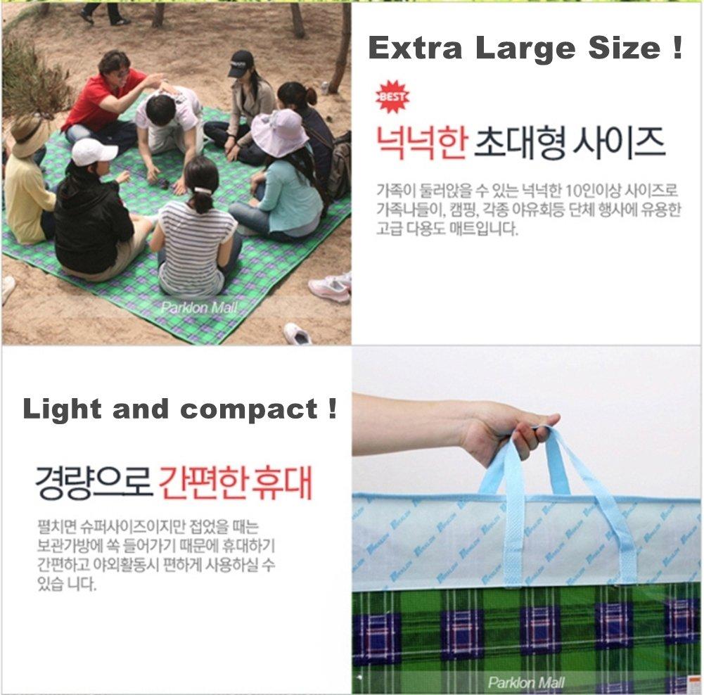 Parklon Grand Taebaeksanmaek Big Size Giant Premium Mat 270 x 260cm (For 10 ~ 12 people) with Carry Bag by Parklon (Image #5)