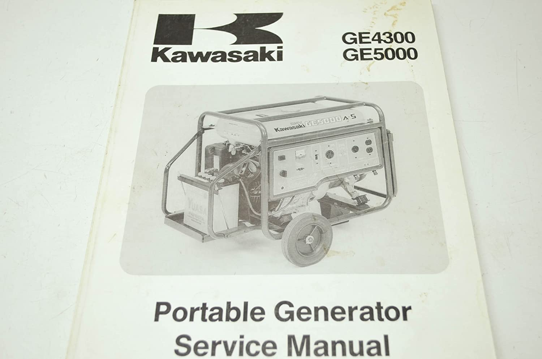 Amazon.com: Kawasaki 99924-2040-01 1993 GE4300 GE5000 Portable Generator  Service Manual QTY 1: Automotive