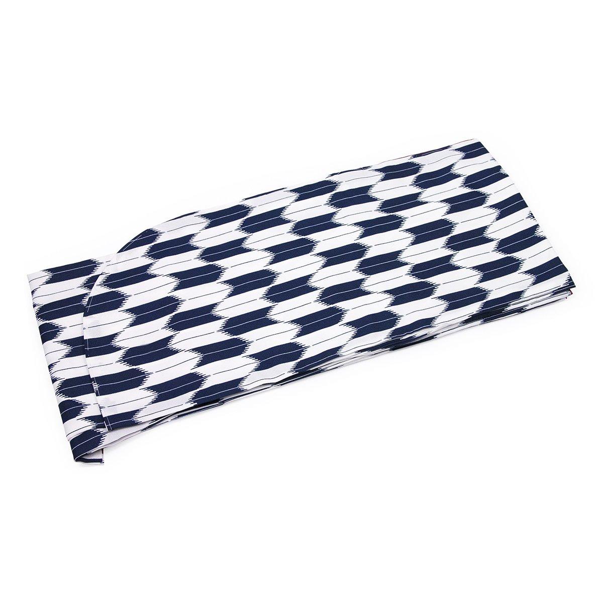 (キョウエツ) KYOETSU はいからさん 二尺袖着物 矢羽根/矢絣 単品 B06XGBBJ1W M|紺(大矢絣) 紺(大矢絣) M
