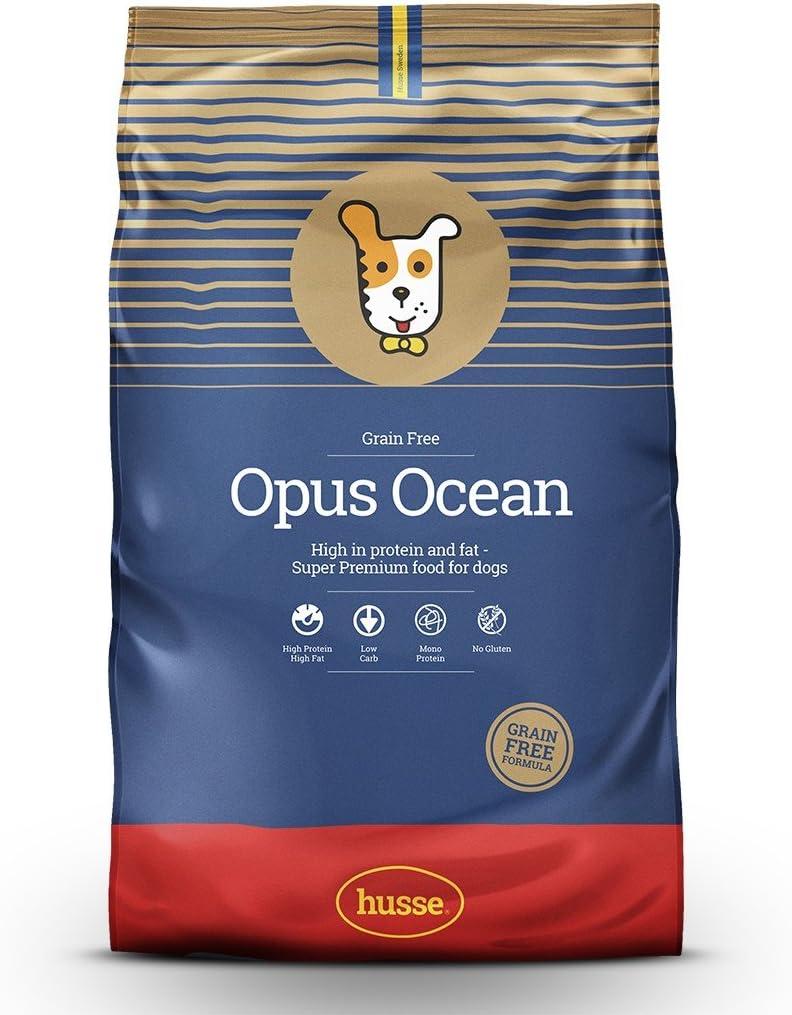 Husse - Opus Ocean 12 Kg | Pienso para Perros | Pienso hipoalergénico y gastrointestinal | Sabor salmón y Patatas Ingredientes