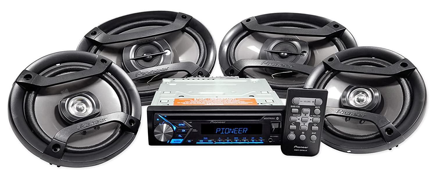 Pioneer 4 Speaker Car Audio System Package With 3 Months Universal Wiring Connection Of Pandora Premium Dxt S4069bt Cell Phones Accessories