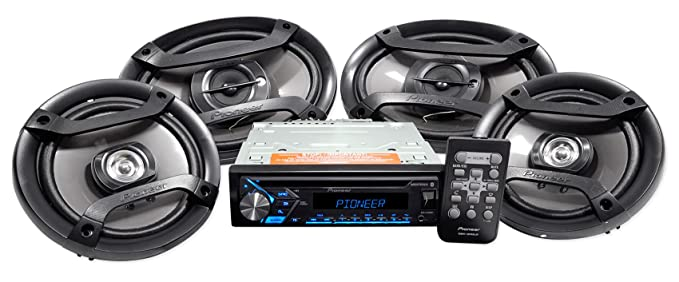 Car Audio System >> Pioneer 4 Speaker Car Audio System Package With 3 Months Of Pandora Premium Dxt S4069bt