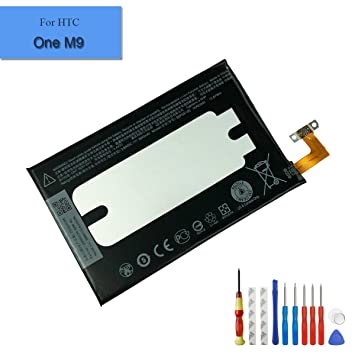For HTC ONE M9 New Replacement Battery B0PGE100 2840mAh 3 83V With Tools