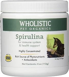 Wholistic Pet Organics Spirulina for Dogs,4 oz.