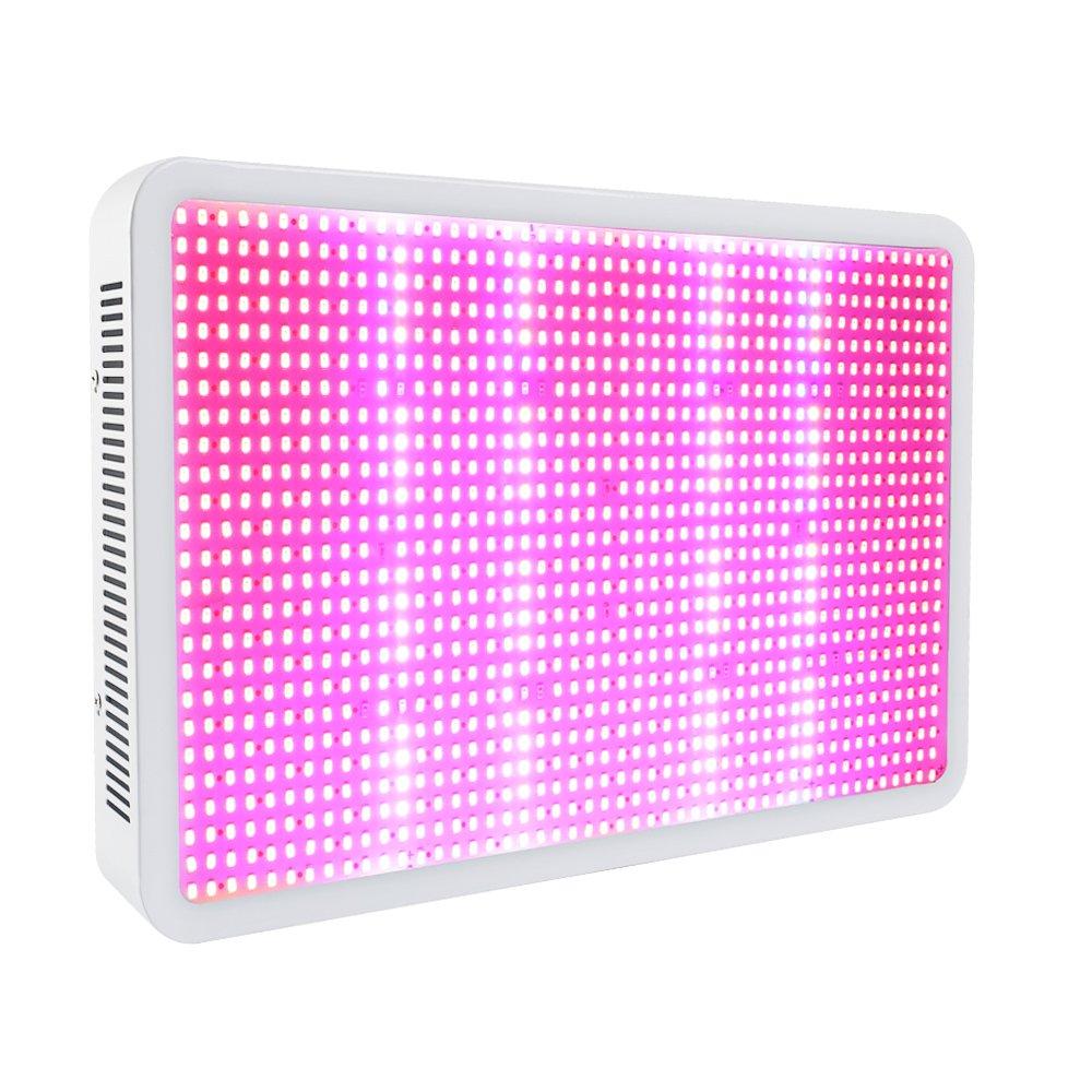 eSavebulbs 1600W LED Grow Light Full Spectrum for Indoor Greenhouse Grow Box Plants Veg and Flower Hydroponics System Kit AC 85V~265V