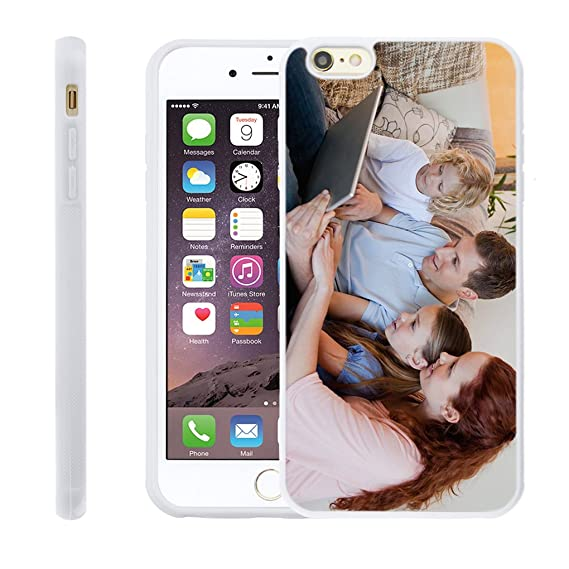 buy online 04eb1 72843 Customize Your Own Phone Case - Personalized Photo/Text/Logo Back Cover  Case for iPhone 6 Plus/6s Plus,Birthday/Xmas/Valentines Gift for Her and Him