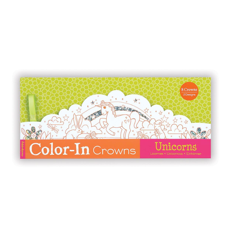 General NON-CLASSIFIABLE Mudpuppy Unicorns Color-In Crowns Alyssa Nassner 9780735342262 General Children Grades 2-3 JUVENILE FICTION
