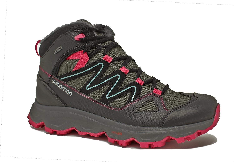 Salomon Cruzano GTX W Damen Schuhe Outdoor Stiefel Goretex Trekking Wanderschuhe