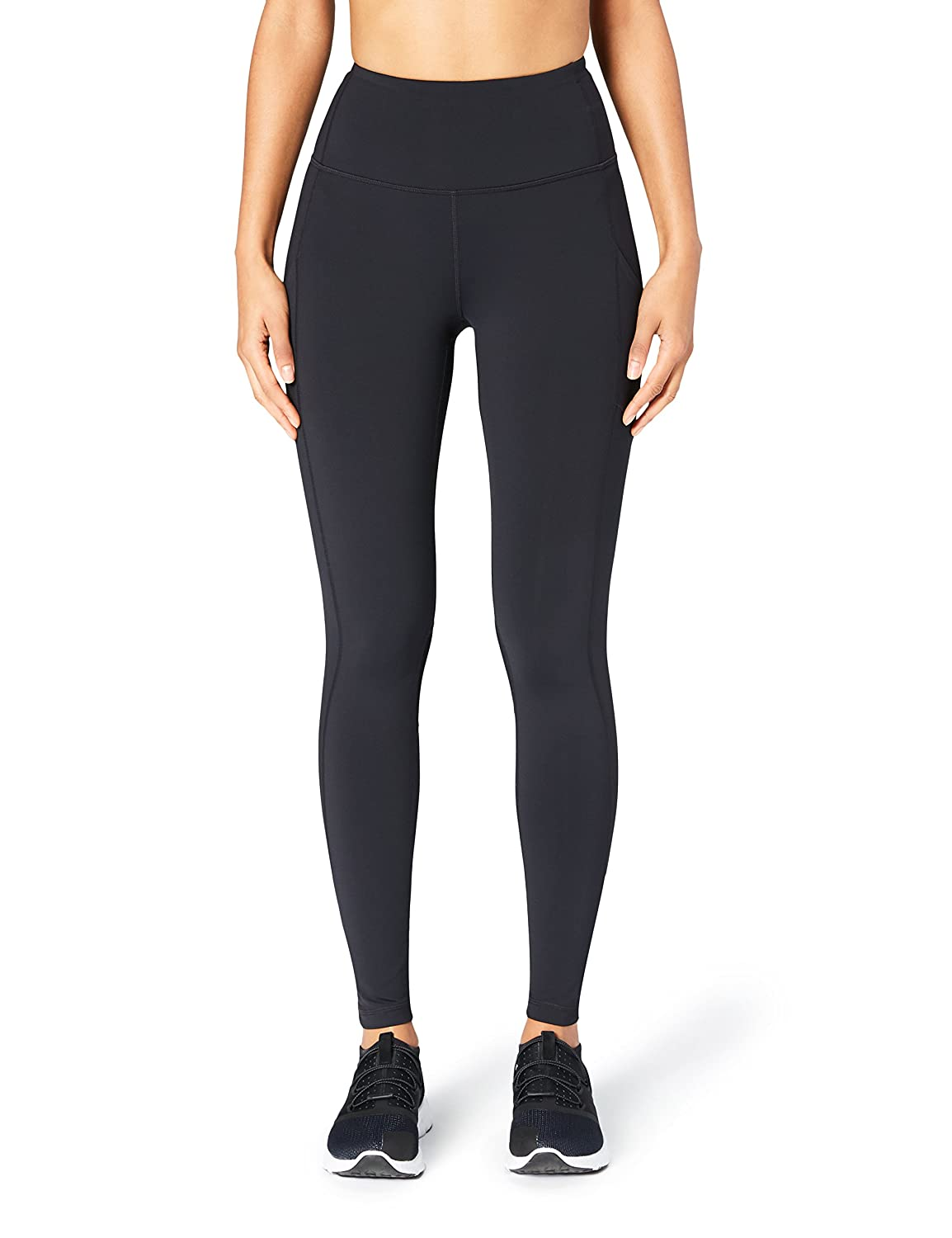 b1cd6a9592 Amazon Brand - Core 10 Women's (XS-3X) 'Build Your Own' Onstride Run  Full-Length Legging with Pockets, Inseams Available