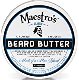 Maestro's Classic Mark of a Man Beard Butter, 6 Ounce