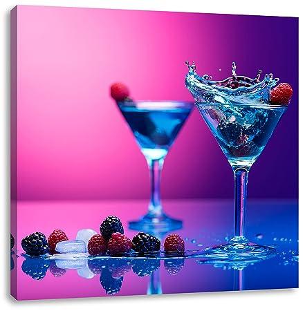 Coole Cocktails Format 70x70 Auf Leinwand Xxl Riesige Bilder